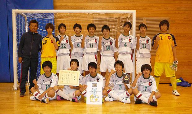 第18回東海ユース(U-15)フットサル大会 優勝!