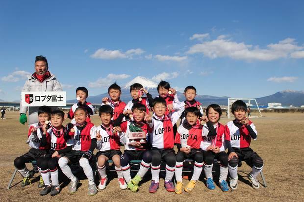 ロプタ富士ジュニアの2・3年生 鷹岡ライオンズ杯 優勝しました。